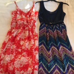 2 dresses included in the price